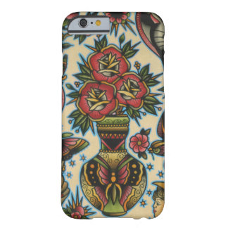 roses in vase barely there iPhone 6 case