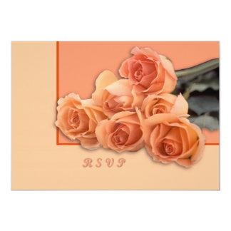 Roses 5x7 Paper Invitation Card