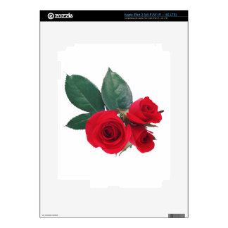 Roses iPad 3 Skin