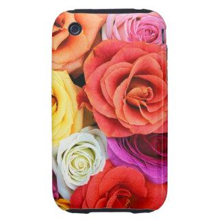 roses iphone 3 Tough case