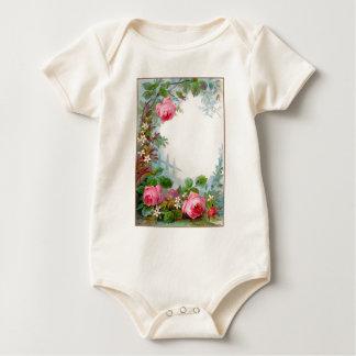 ROSES & JASMINES BABY BODYSUIT