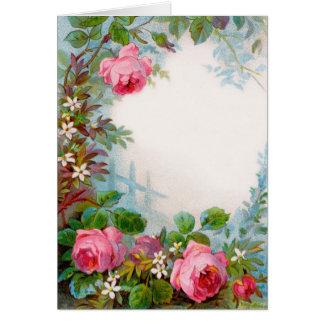 ROSES & JASMINES CARD