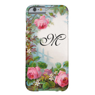 ROSES & JASMINES MONOGRAM BARELY THERE iPhone 6 CASE