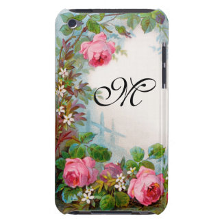 ROSES & JASMINES MONOGRAM BARELY THERE iPod CASE