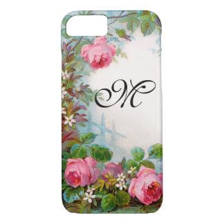 ROSES & JASMINES MONOGRAM iPhone 8/7 CASE