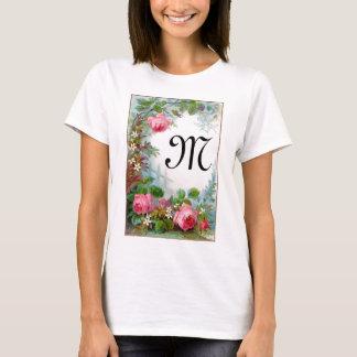 ROSES & JASMINES MONOGRAM T-Shirt