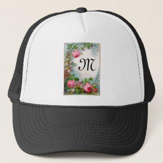 ROSES & JASMINES MONOGRAM TRUCKER HAT