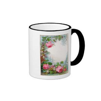 ROSES & JASMINES RINGER COFFEE MUG
