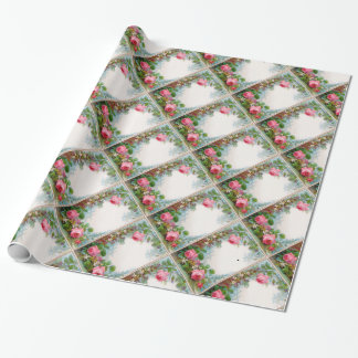 ROSES & JASMINES GIFT WRAPPING PAPER