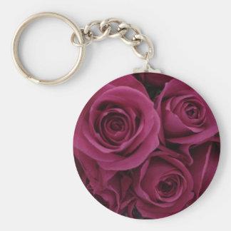 roses keychain