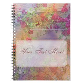 Roses Lattice Notebook