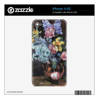Roses, lilacs and daffodils by Lovis Corinth Skins For The iPhone 4