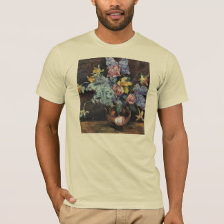 Roses, lilacs and daffodils by Lovis Corinth T-Shirt