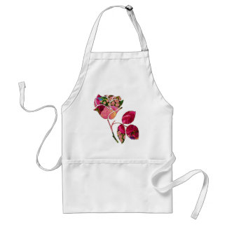 Roses & Lily of the Valley Adult Apron