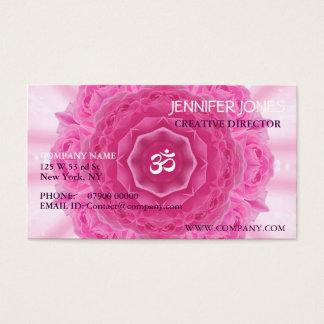 Roses Mandala, Business Card