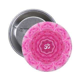 Roses Mandala - Button