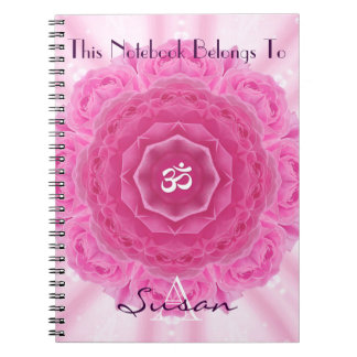 Roses Mandala, Notebook