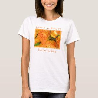 Roses & Men-customize T-Shirt