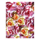 Roses Mixed Personalized Letterhead