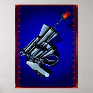 Roses n Guns Poster