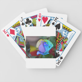 Roses Nature Landscapes Congratulations Smile Bicycle Playing Cards