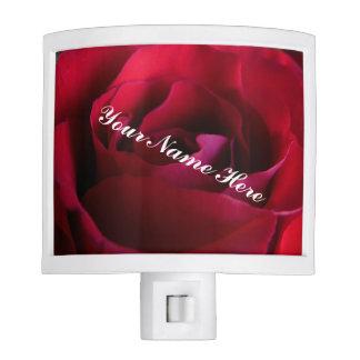 Roses Nightlight Custom Red Rose Flower Nightlight Night Lights