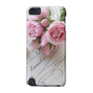 roses on 18th century page iPod touch (5th generation) case