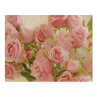 Roses on Canvas Post Cards