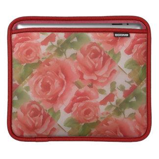Roses on iPad pad Horizontal iPad Sleeve