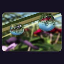 Roses on Raindrops Flexible Magnet