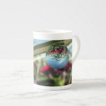 Roses on Raindrops Specialty Mug