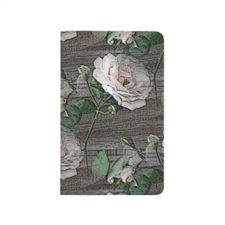 Roses on Weathered Wood Journals