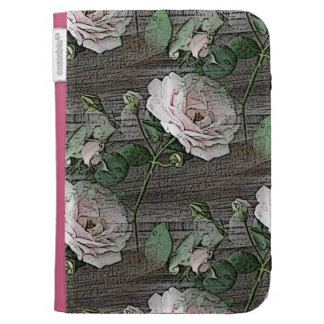 Roses on Weathered Wood Kindle 3 Cover