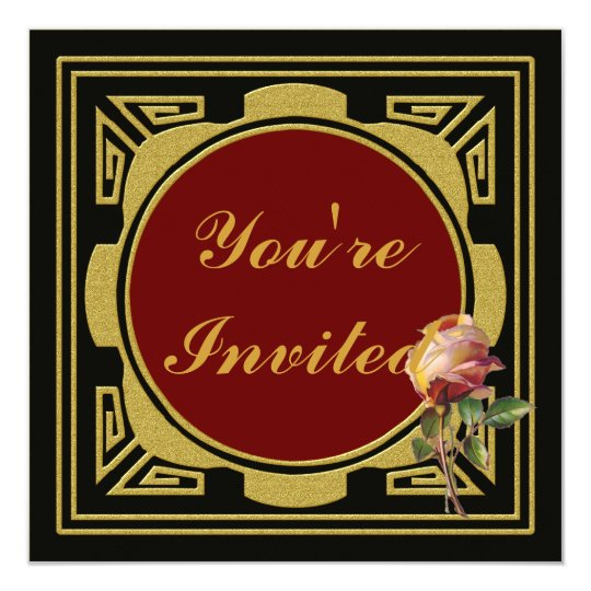 Roses Party Invitation