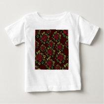 Roses pattern baby T-Shirt