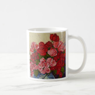 Roses & Peonies Coffee Mug
