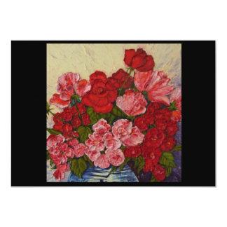 Roses & Peonies Invitation