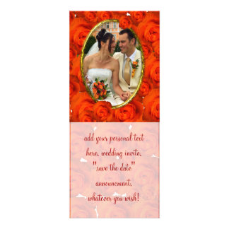 Roses Personalized Announcement