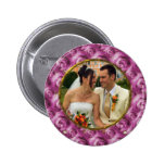 Roses/Photo 2 Inch Round Button