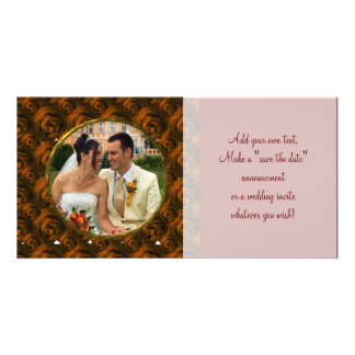 Roses/Photo Card