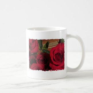 Roses photo floral flowers nature gardens coffee mug