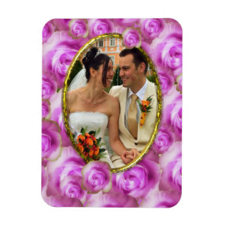 Roses/Photo Vinyl Magnets
