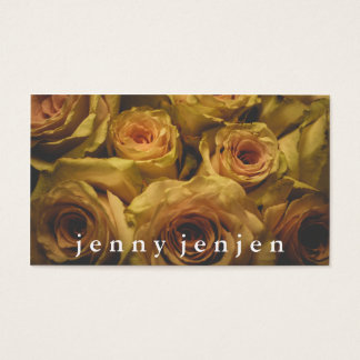Roses Photograph Business Cards