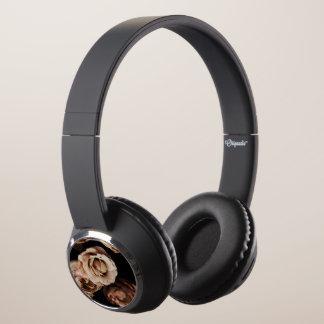 Roses photography headphones