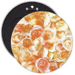 roses pinback button