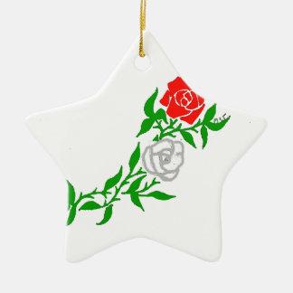 ROSES.png Ceramic Ornament
