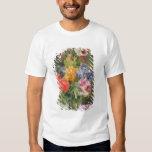 Roses, Poppy and Pelargonia Tee Shirt