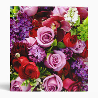 Roses ,Red and Purple Flora_Avery Binder