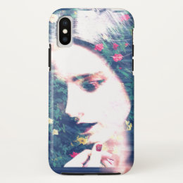 Roses Romantic Mood Girl Beauty Floral Summer iPhone X Case
