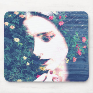 Roses Romantic Mood Girl Beauty Floral Summer Mouse Pad